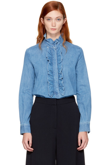 Stella McCartney - Blue Denim Ina Shirt