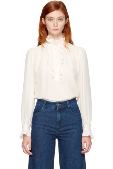 Stella McCartney - Ivory Meredith Blouse
