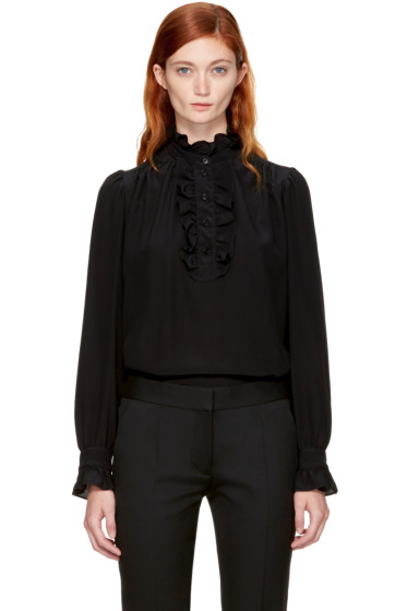 Stella McCartney - Black Meredith Blouse