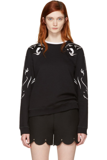 Valentino - Black Panther Sweatshirt