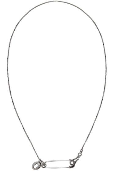 Valentino - Silver Pin Necklace