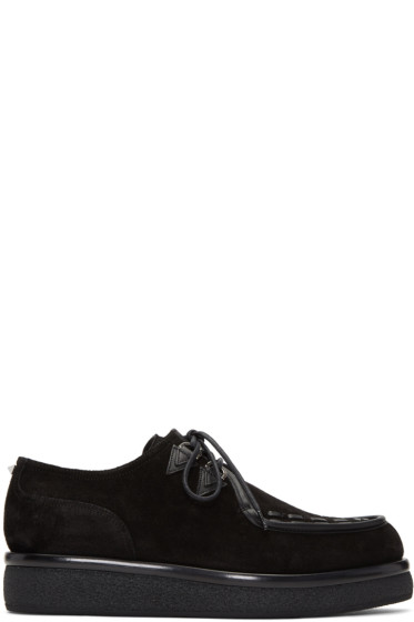 Valentino - Black Suede Creepers