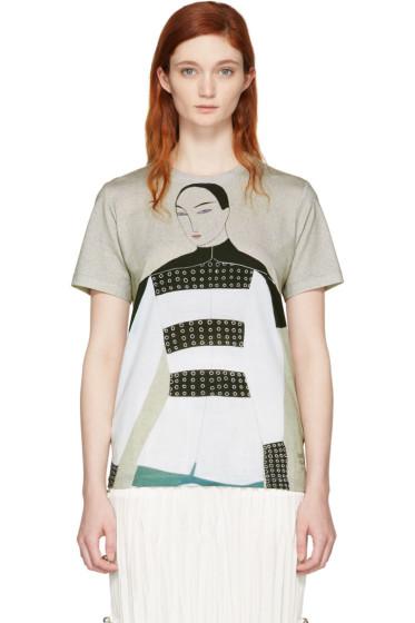 J.W. Anderson - SSENSE Exclusive Grey Kelly Beeman Edition Graphic T-Shirt