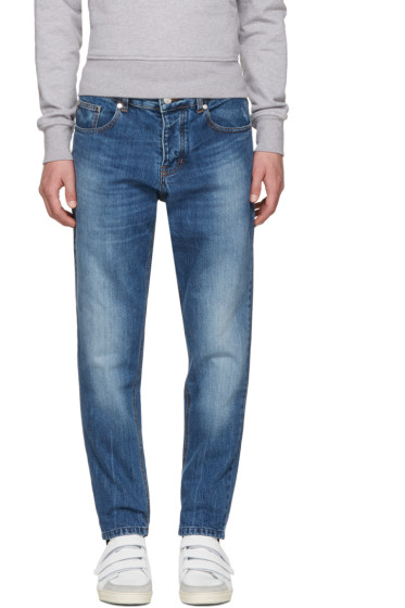 AMI Alexandre Mattiussi - Blue Carrot Fit Jeans