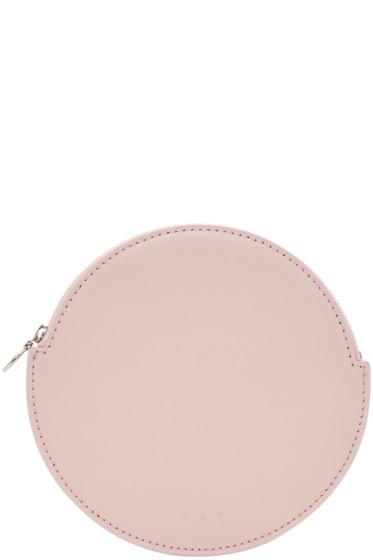 Kara - Pink Circular Pouch
