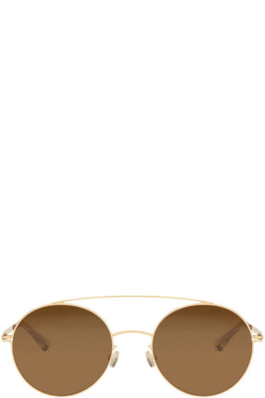 Mykita - Gold Aira Sunglasses