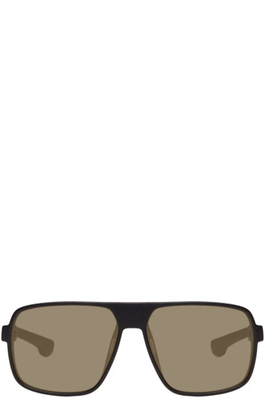 Mykita - Black Daggoo Sunglasses