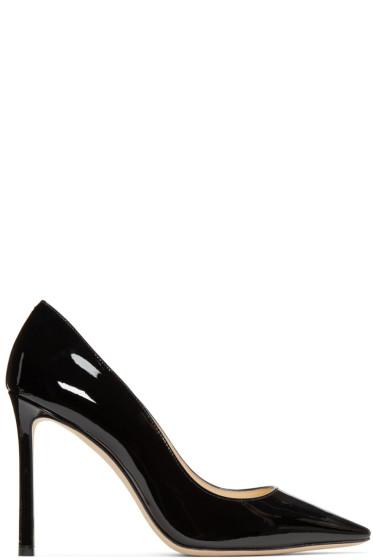 Jimmy Choo - Black Patent Romy Heels