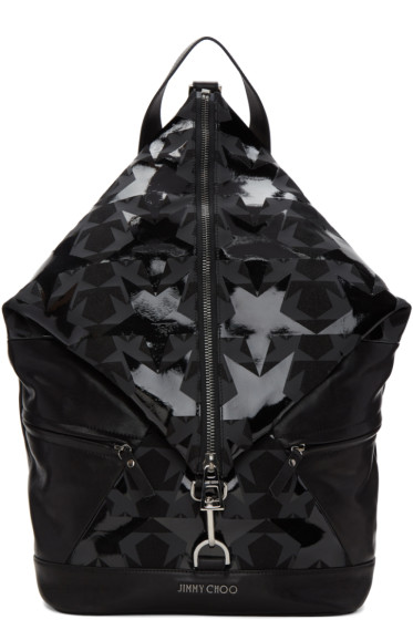 Jimmy Choo - Black Fitzroy Stars Backpack