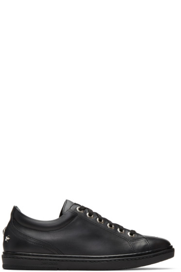 Jimmy Choo - Black Stars Cash Sneakers