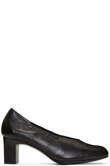 Robert Clergerie - Black Pino Heels