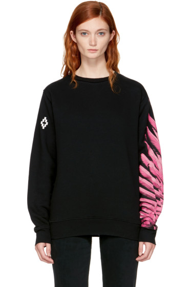 Marcelo Burlon County of Milan - SSENSE Exclusive Black Pras Sweatshirt