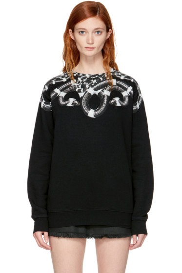 Marcelo Burlon County of Milan - SSENSE Exclusive Black Kion Sweatshirt