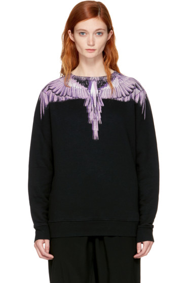 Marcelo Burlon County of Milan - SSENSE Exclusive Black Malon Sweatshirt