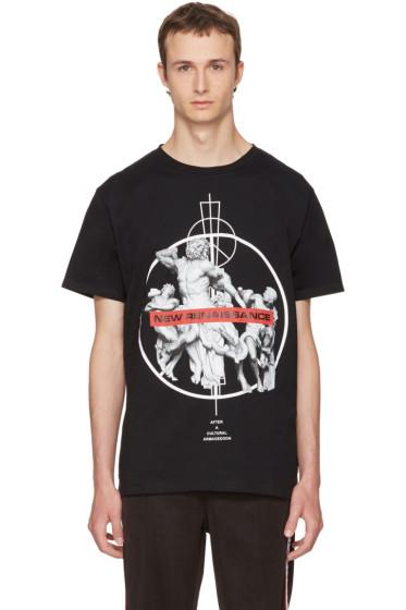 Marcelo Burlon County of Milan - Black Fainu T-Shirt