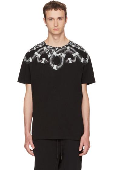Marcelo Burlon County of Milan - SSENSE Exclusive Black Kion T-Shirt