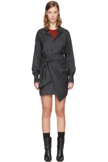 Isabel Marant Etoile - Grey Nolla Shirt Dress