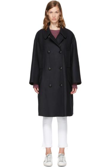 Isabel Marant Etoile - Navy Flicka Coat
