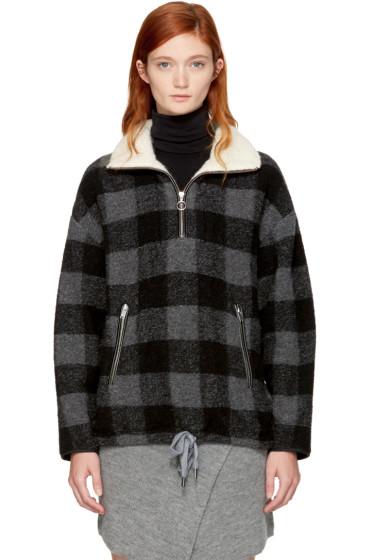 Isabel Marant Etoile - Grey Check Gilas Jacket