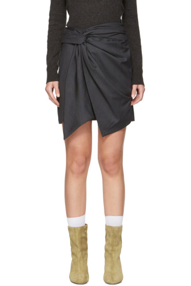 Isabel Marant Etoile - Grey Nima Skirt