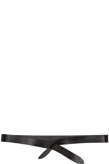 Isabel Marant - Black Lecce Wrap Belt