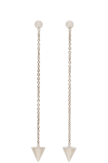 Isabel Marant - Silver Arrow Chain Earrings
