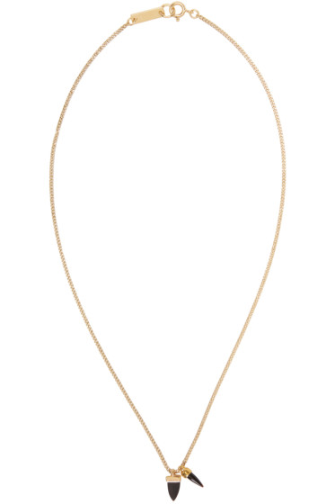 Isabel Marant - Gold Two Hand Necklace