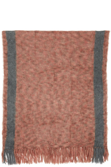 Isabel Marant - Red Large Izia Scarf