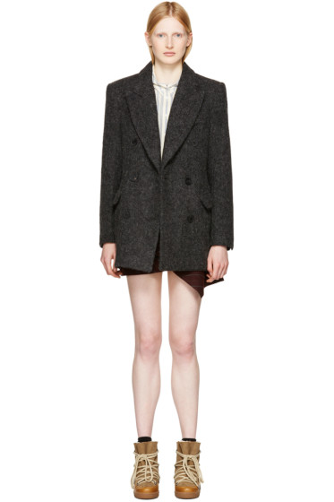 Isabel Marant - Grey Elley Coat