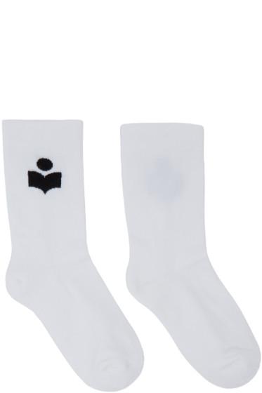 Isabel Marant - White Visby Socks