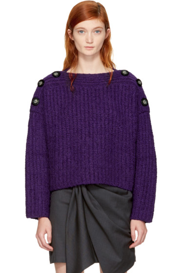 Isabel Marant - Purple Free Sweater