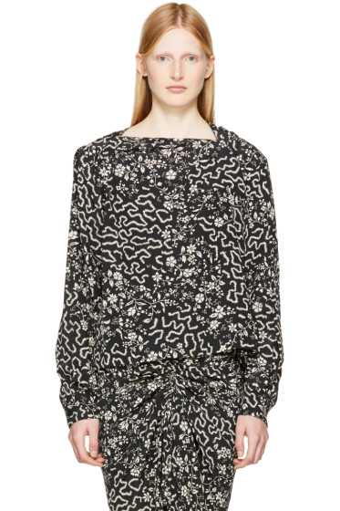 Isabel Marant - Black Groundy Blouse