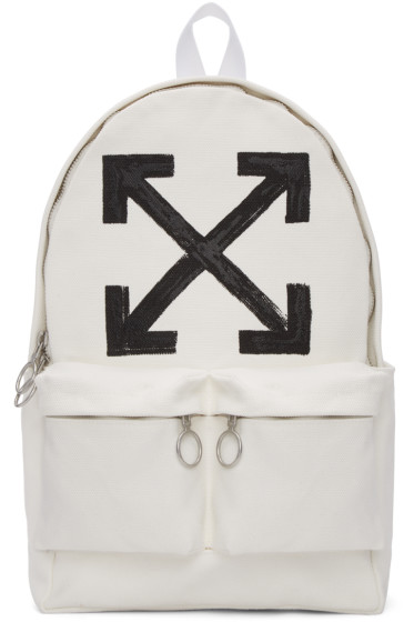 Off-White - Off-White Brushed Backpack