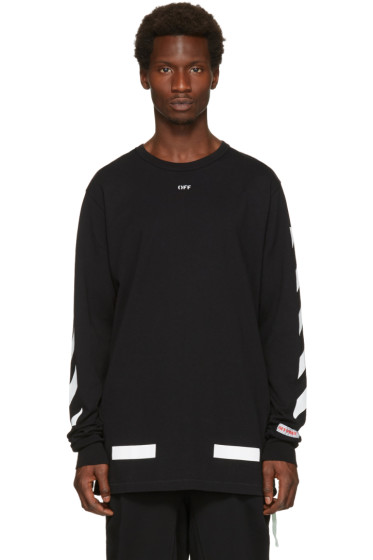 Off-White - Black Diagonal Arrows T-Shirt