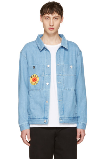Etudes - Blue Denim Guest Smiling Sun Jacket