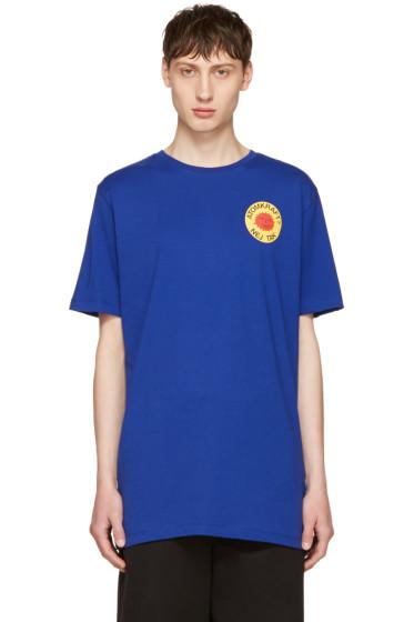 Etudes - Blue Page Smiling Sun T-Shirt