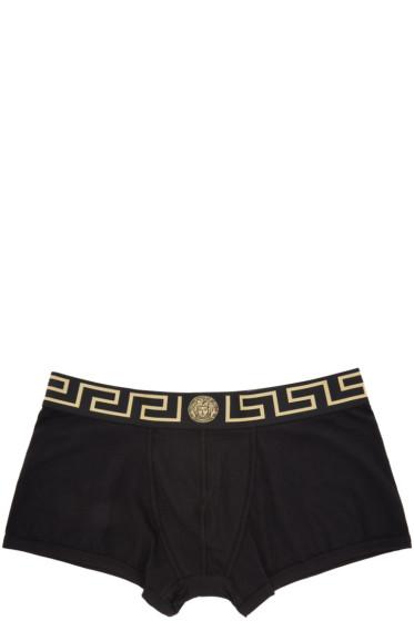Versace Underwear - ブラック メドゥーサ ボクサー ブリーフ