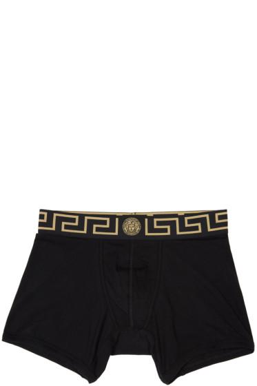 Versace Underwear - Black Medusa Boxer Briefs