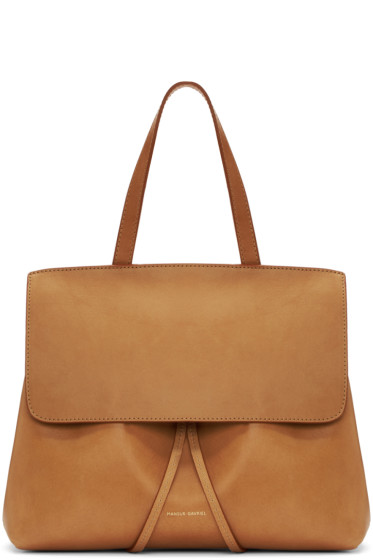 Mansur Gavriel - Tan Leather Mini Lady Bag