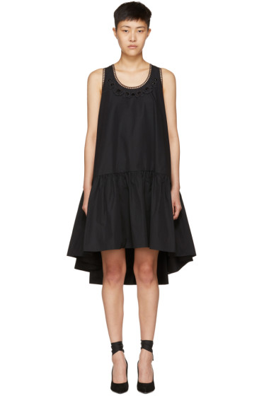 Fendi - Black Flowerland Dress