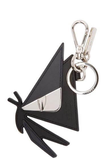Fendi - Black Butterfleyes Keychain