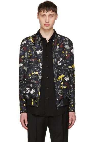 Fendi - Reversible Black Butterfleyes Bomber Jacket