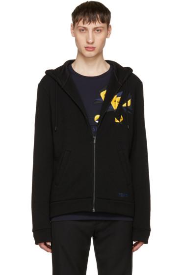Fendi - Black Butterfleyes Zip Hoodie