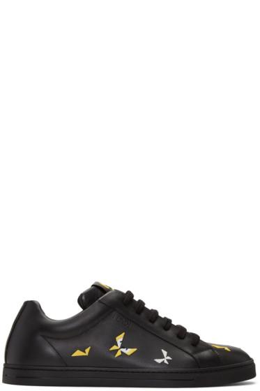 Fendi - Black Butterfleyes Sneakers