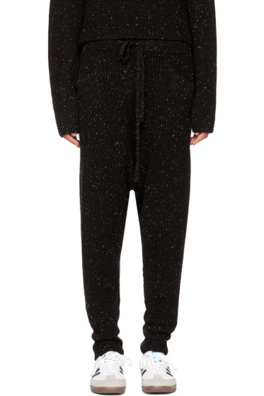 Baja East - Black Cashmere Lounge Pants