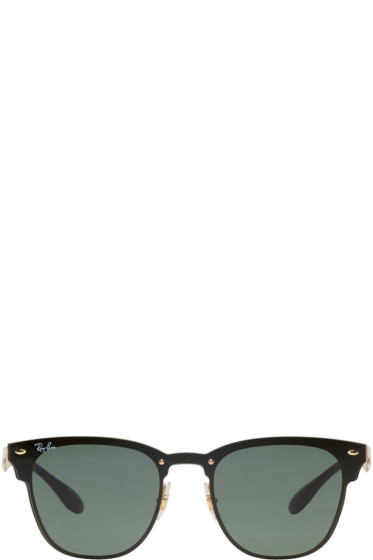 Ray-Ban - Gold Blaze Clubmaster Sunglasses
