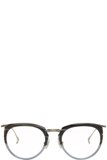 Issey Miyake Men - Grey Boston 1 Glasses
