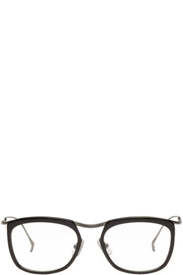 Issey Miyake Men - Black Wellington 1 Glasses