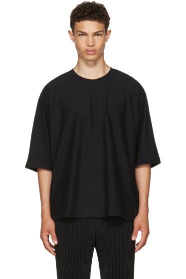 Homme Plissé Issey Miyake - Black Release T-Shirt