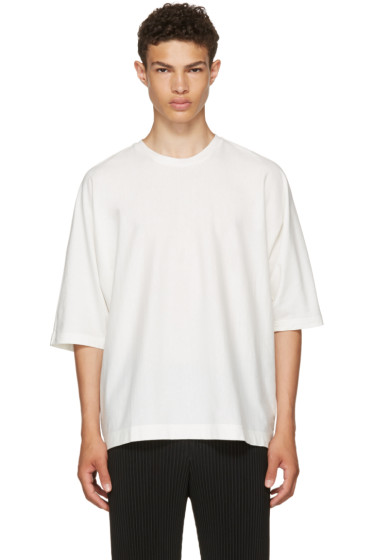 Homme Plissé Issey Miyake - White Release T-Shirt